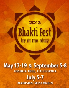 Bhakti Fest Logo with Dates