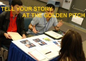 Pitch your screenplay to top producers at the Golden Pitch Event