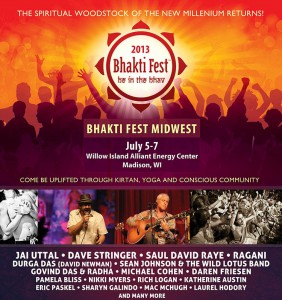 Bhakti Fest Midwest Poster